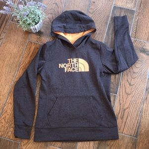 The North Face / Charcoal & Peach Hoodie